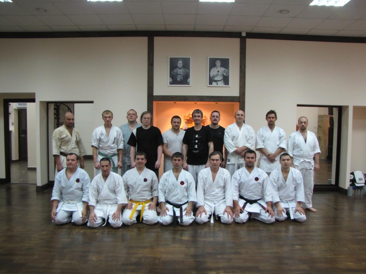 еще один семинар в клубе Богдана Курилко - Годзю Рю