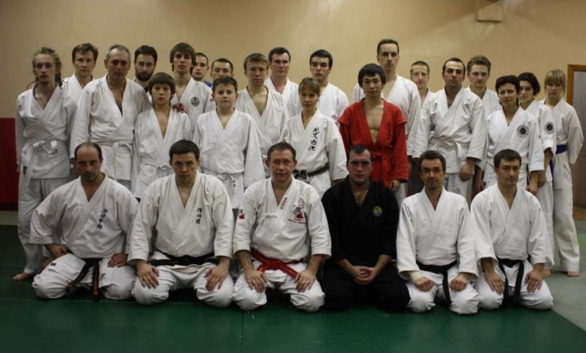 на семинаре с Hanshi Анатолием Сосниным - 8 дан, Jiu-jitsu International.jpg