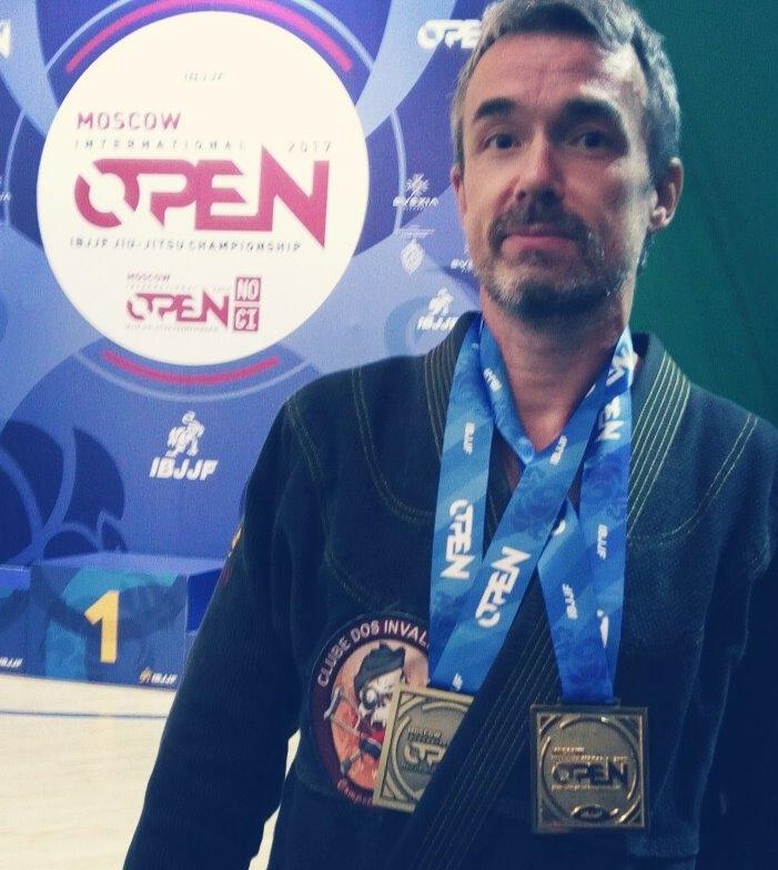призёр международного турнира Moscow Open IBJJF 2017