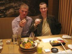 В японском ресторане