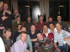 Наша группа с Тада-сенсеем и Ямада-сенсеем