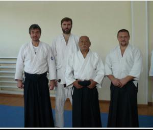 на семинаре Нобуйюки Ватанабэ-сенсэя