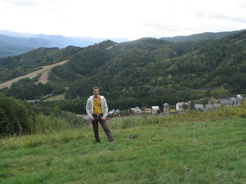 Вид на лагерь сверху