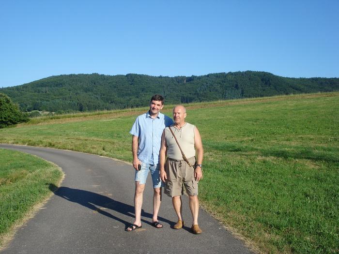 С Александром в Германии